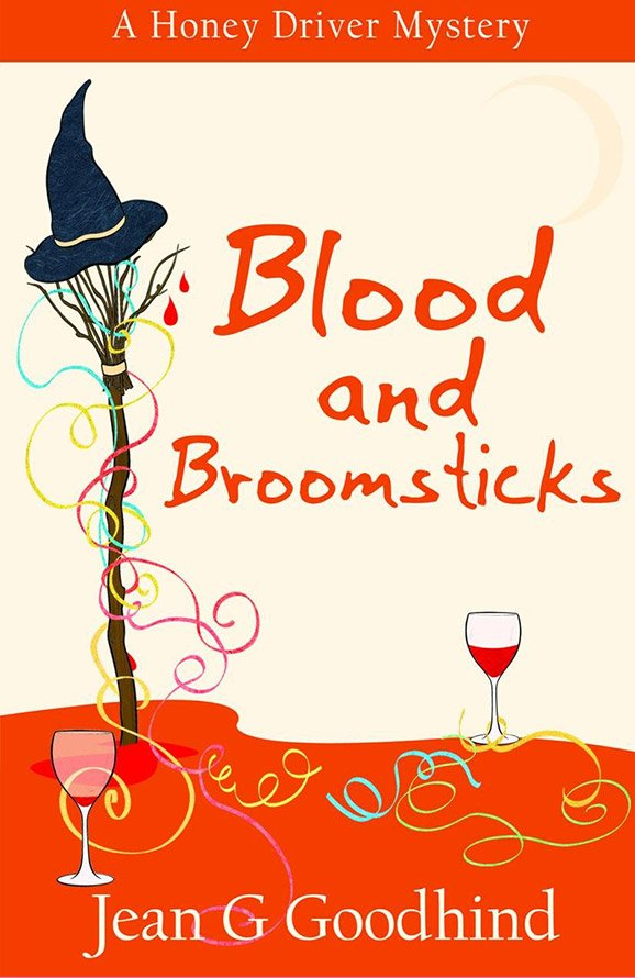 Blood and BroomsticksHoney Driver Mystery #10