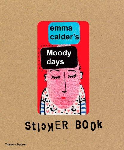 Moody Days Sticker Book