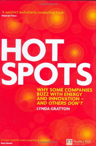Hot Spots: Why Some Companies Buzz With Energy and Innovation – And Others Don't